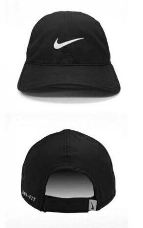 NIKE FEATHERLIGHT 679421-010 運動帽 NIKE/老帽/可調式 正版 黑色