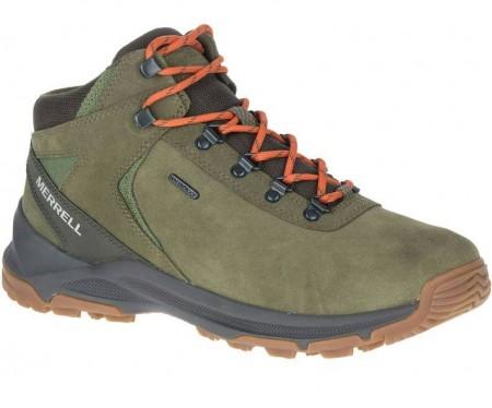MERRELL 男款 戶外 健行 登山鞋  防水 軍綠色 ML033691