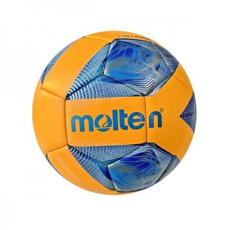 【MOLTEN】Football 足球 3號 幼兒 學齡前 亮面 機縫 19cm 橘藍 F3A2000-OB