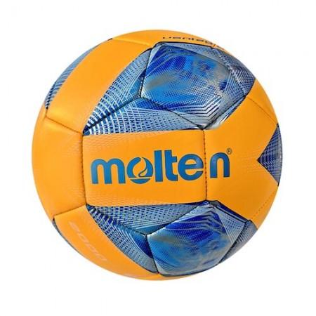 【MOLTEN】4號足球 合成皮足球 訓練球 國小用球 PU機縫亮面材質 F4A2000-OB