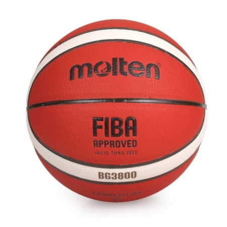 【MOLTEN】合成皮 12片貼籃球 *深溝設計* 7號球 B7G3800