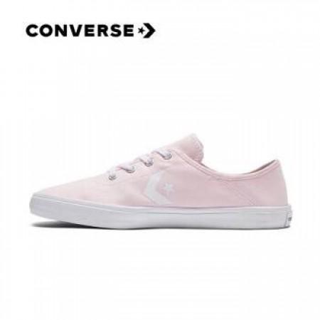 CONVERSE 粉紅色休閒鞋 563437C