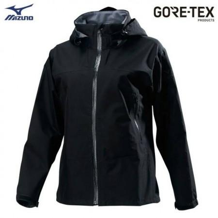 MIZUNO 美津濃 女款單層GORE-TEX防水透氣外套 B2JE9X1009(黑)