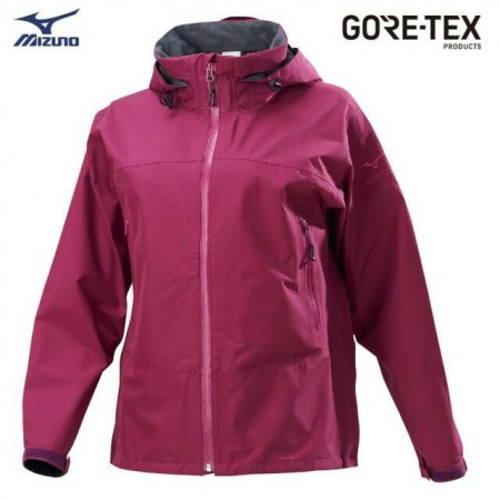 MIZUNO 美津濃 女款單層GORE-TEX防水透氣外套 B2JE9X1067(紫)