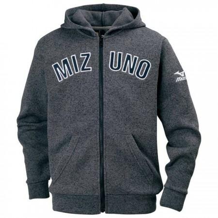 美津濃MIZUNO Fleece兒童刷毛拉鍊外套 深灰 32JC795608
