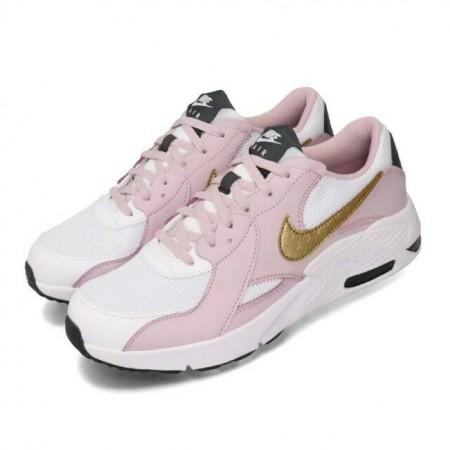 NIKE 女款 大童鞋 童鞋 休閒鞋 Air Max Excee 運動 女鞋 氣墊 避震 透氣 舒適  粉 金 CD6894-102