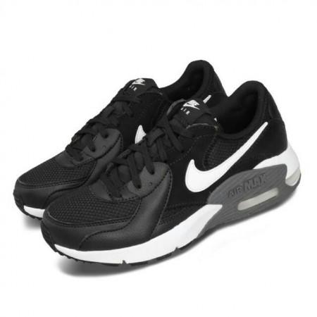 NIKE 女款 休閒鞋 Air Max Excee 運動鞋 女鞋 氣墊鞋 避震 皮革 簡約 舒適 黑 白CD5432-003