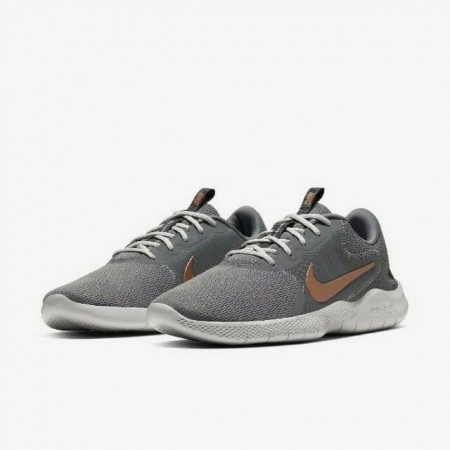 NIKE 男款 慢跑鞋 Flex Experience Run 男鞋 輕量 透氣 舒適 避震 路跑 健身 灰 金CD0225-003