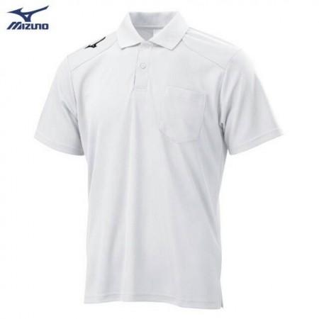 MIZUNO 美津濃 男款 短袖POLO衫 白 32TA002001