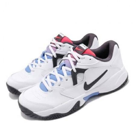 NIKE 女款 網球運動鞋 白藍 AR8838-103