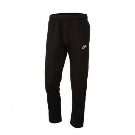 NIKE 男款 長褲 Club Fleece Pants NSW 運動休閒長褲 棉質 保暖 黑白 BV2708-010