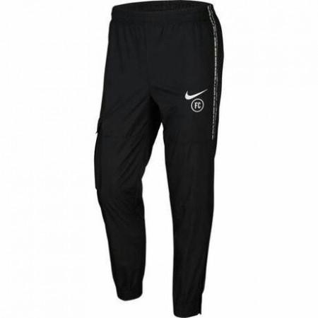 NIKE 男款 長褲 足球褲 拉鍊有口袋 縮口褲 訓練褲 黑  CD0557-010