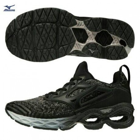 美津濃 mizuno WAVE CREATION WAVEKNIT 一般型女款慢跑鞋 J1GD203309