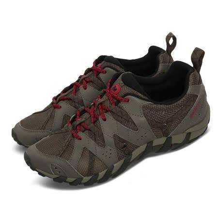 Merrell 男款 Waterpro Maipo 2 登山鞋 越野鞋 溯溪鞋 耐磨 黃金大底 快乾 灰 紅 ML034261