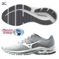 MIZUNO 美津濃  女款WAVE INSPIRE 17 寬楦支撐型慢跑鞋  ENERZY中底材質 J1GD214601
