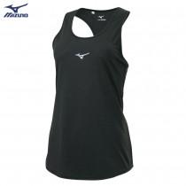 【MIZUNO 美津濃】女路跑短袖T恤 J2TA120109(黑灰) J2TA120117(煙灰藍)