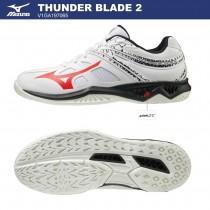 MIZUNO 美津濃 THUNDER BLADE 2 男女款  排球鞋 羽球鞋 V1GA197065