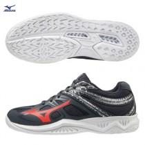 MIZUNO 美津濃 LIGHTNING STAR Jr. 兒童排球鞋 羽球鞋 室內運動鞋 黑 V1GD190366