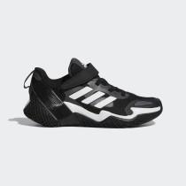 adidas 中童 大童 女款  4UTURE RNR EL K  慢跑鞋 黑 FX2185