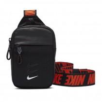 NIKE 耐吉  Essentials Waist Pack NSW 斜背包 外出包 寬背帶 黑 紅 BA5904-010