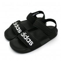 adidas 愛迪達 中大童涼鞋 親子涼鞋 粉 G26879