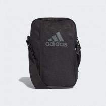 ADIDAS 愛迪達 單肩包 側背包 隨身包 方形包 小包 黑 AJ9988