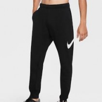 【 NIKE耐吉 】 Dri-FIT 男裝 長褲 慢跑 健身 訓練 排汗 黑 CU6776-010