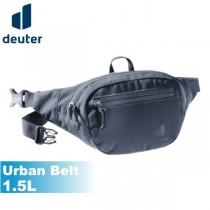 【ATUNAS 歐都納】Deuter 德國 Urban Belt 1.5L 腰包 黑/淺灰綠 (隨身腰包/臀包/耐磨/抗撕裂) 3910420