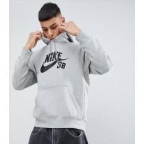 NIKE 耐吉 男款 連帽T恤 灰 黑 帽T SB Icon Hoodie Po Essential