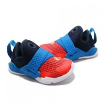 NIKE 休閒鞋 Huarache Extreme 童鞋 襪套 武士鞋 舒適 球鞋 穿搭 小童 藍 紅 [BQ7570-400]