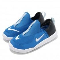NIKE 耐吉 休閒鞋 Lil Swoosh 運動童鞋襪套透氣輕量舒適 小童鞋 AQ3113-401