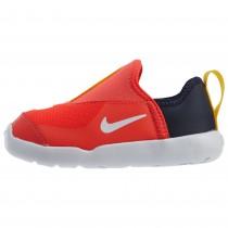NIKE 耐吉 休閒鞋 Lil Swoosh 運動童鞋襪套透氣輕量舒適 小童鞋 紅 AQ3113-600