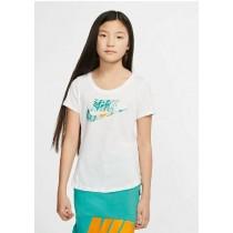 NIKE  兒童 大童 女款 短袖運動上衣  T恤 CD9576-100