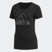 adidas 愛迪達 女款 GFX T FOIL BOS 短袖T恤 DY8680
