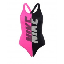 NIKE Girls 兒童 女童 連身泳裝 NESS9602-001