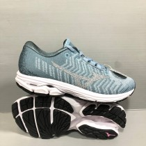 美津濃 Mizuno Wave Rider Waveknit 3 Wide 女寬楦慢跑鞋 型號J1GD193139