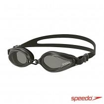 Speedo 成人泳鏡 Edge 黑灰 日本製 SD8120047649