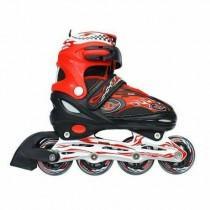 成功 S0420 鋁合金伸縮溜冰鞋組 休閒直排輪 兒童 成人直排輪 (含頭盔、護具、背套)