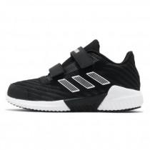 adidas 愛迪達 慢跑鞋 Climawarm 2.0 CF 童鞋 愛迪達 魔鬼氈  球鞋 中童 黑 白 EF0974