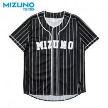 美津濃 MIZUNO SPORTS STYLE 男款復古棒球服 黑 D2TA950109