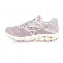 MIZUNO 美津濃 WAVE RIDER 23 女慢跑鞋 路跑鞋 藕紫灰 J1GD190443