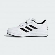 愛迪達 Adidas ALTASPORT CF K 魔鬼氈 中童鞋  大童鞋 童鞋 黑白 D96830