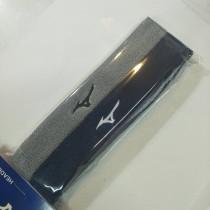 美津濃 MIZUNO 細頭帶(兩入裝) 灰/藍  32TY9X5493