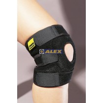 ALEX 竹炭調整式護膝(一只) H-75