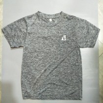 兒童運動衫 自創品牌 3M技術 速乾 吸濕排汗 灰 EUK01