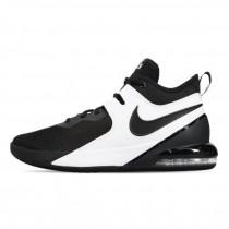NIKE 男款 籃球鞋 Air Max Impact 運動鞋 男鞋 氣墊鞋 避震 包覆 舒適 球鞋 黑 白CI1396-004