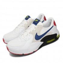 NIKE 男款 休閒鞋 Air Max Excee 運動鞋 男鞋 氣墊 避震 復古設計  舒適 白藍 CD4165-101