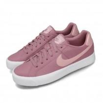 NIKE 女款 休閒鞋 Court Royale AC 運動 女鞋 基本款 簡約 皮革 舒適  穿搭 粉紫 AO2810-500