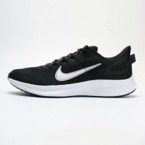 NIKE  RUNALLDAY 2 男款 慢跑鞋 黑白 CD0223-003