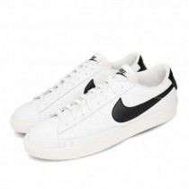 NIKE 男款 休閒鞋 Blazer Low 基本款 簡約 舒適 皮革 穿搭 白 黑 CI6377-101